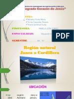 Regiojn Janca o Cordillera