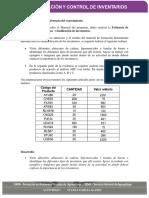 Estudio de Caso Clasificación de Inventarios.