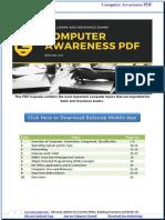 Computer notes for bank exams