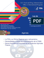 2016 05 11 Iica Estado Implementacio Fsma Norma Final Productos Agricolas Frescos