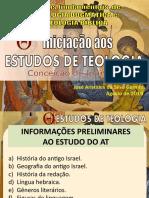 Estudo Teológico - Informações Preliminares Ao At