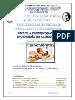 INFORME Quial (Carbohidratos)