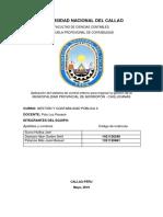 Implementación Del Control Interno en La Municipalidad Provincial de Morropón-chulucanas