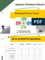 f Balanced Scorecard 2010