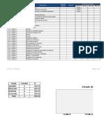 Anexo 3. Control Procedimientos