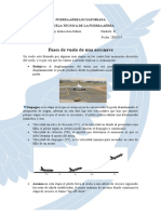 fases de vuelo