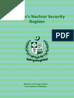 Pakistan Nuclear Security Regime