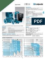 CALPEDA Scheda Tecnica Pompe Circolazione NR NR4 (1)