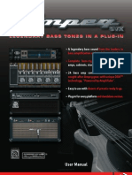 Ampeg SVX  IK-User Manual