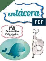 Plantilla bitacora