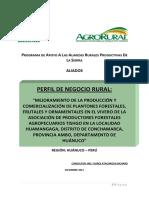 Perfil negocio forestal