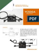 APS YC500A Microinverter Datasheet