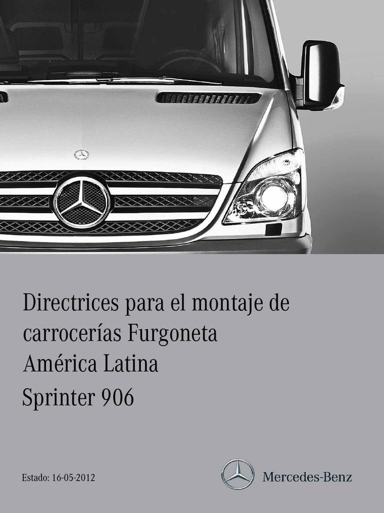 Nuevo Compatible con Mercedes Benz Sprinter W906 Antena Montado en el Techo