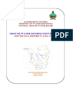 Ground Water Information Booklet South_goa-2012
