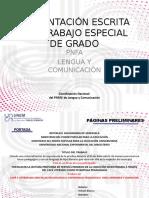 PRESENTACIÓN ESCRITA DEL TRABAJO ESPECIAL DE GRADO.ppt