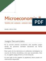 """Juegos Secuenciales â€"""" Presentaciones de Clase-3"""