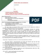 Caderno de Direito Civil III