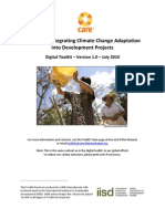 Toolkit for Integrating Climate Change Adaptation Into Development Projects
