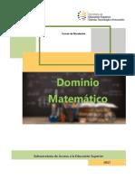 Manual Dominio Matemático