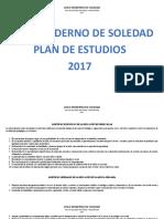 Plan de Estudio Completo 2017