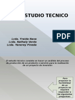 Estudio Tecnico 2016