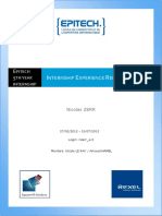 Internship Raport