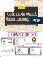 Calendario Visual Adaptado