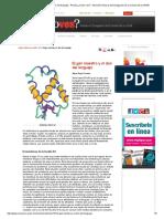El Gen Maestro y El Don Del Lenguaje - Revista ¿Cómo Ves_ - Dirección General de Divulgación de La Ciencia de La UNAM