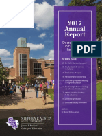 SFASU 2017 Education Doctoral Newsletter