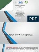 3 Unidad Asignacion y Transporte}