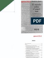 00-Olson, David R. - El mundo sobre el papel. El impacto de la escritura y la lectura en la estructura del conocimiento (1998 Gedisa).pdf