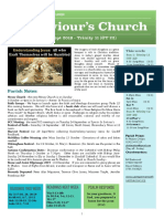 st saviours newsletter - 1 sept 2019 - ot 22