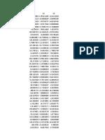 Datos Ejercicio Econometria