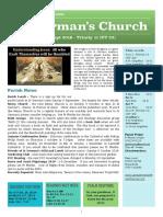 st germans newsletter - 1 sept 2019 - trinity 11