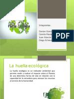 Huella Ecologica y Hábitos de Consumo.