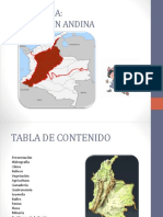 Colombia Region Andina