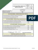 FR-001 Relatório Mensal de Receitas Brutas 2016