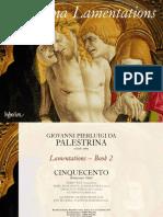 Palestrina Lamentations