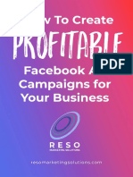 How to Create Profitable Facebook Ad Campaigns for Your Business