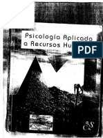 PSICOLOGIA APLICADA A RECURSOS HUMANOS