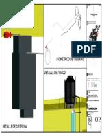 Instalacion hidraulica, plano 3d