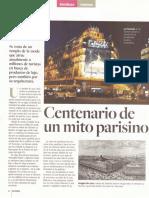 Centenario de Un Mito Parisino
