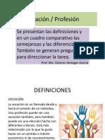 Vocación-Profesión