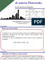 7. Balances Elementales