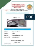 Analisis de Fallas en Ejes o Barras de Transmision- Informe
