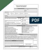 Anexo 6 Formulario de Información Personal
