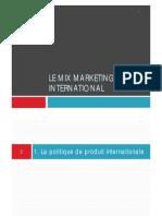 Marketing Mix International
