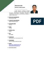 Patricia Flores Sandy 2018