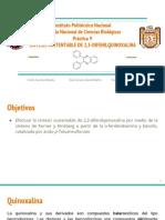 Práctica 9 Síntesis 2,3-Difenilquinoxalina Qfi 2019_1