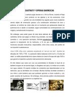 13.-Los Castrati y Operas Barrocas